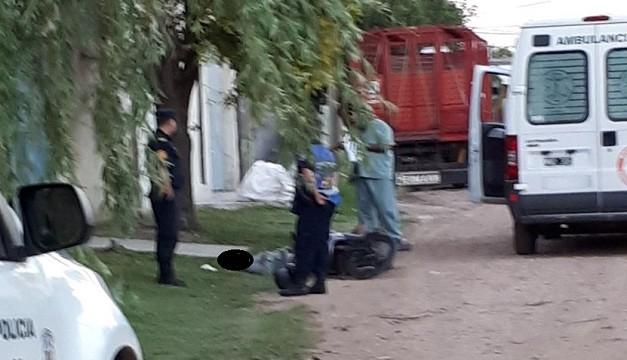 Fernando fue encontrado por un remisero que llamó inmediatamente a la Policía y a una ambulancia