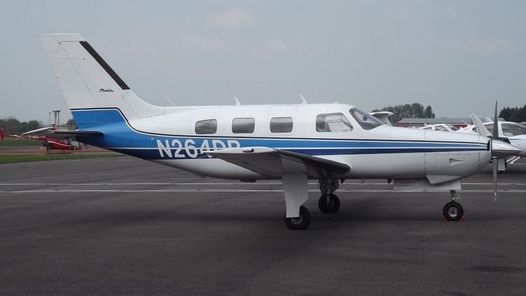 Aeroplano-emiliano-sala-Piper-PA-46-Malibu-N264DB