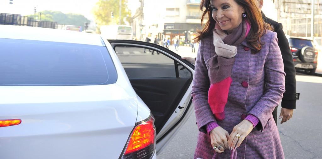La senadora Cristina Fernández de Kirchner ingresa al congreso de la Nación.  03.06.2019 Foto Maxi Failla