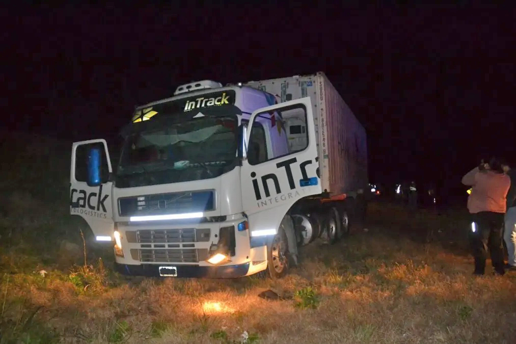 accidente camion
