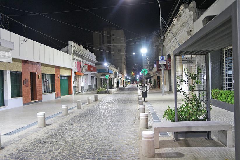 peatonal noche